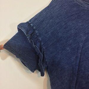 Universal Thread Tops - Universal Thread Ruffle Sleeve Top